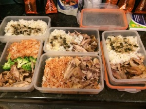 2 days worth of meals for work ready in 15min